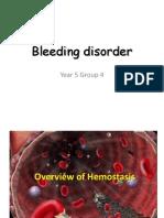 Bleeding Disorder