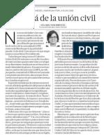 Más Allá de La Unión Civil
