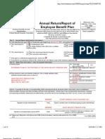 Retirement Plan of Trustees 2006