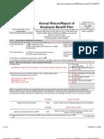 Retirement Plan of Trustees 2007