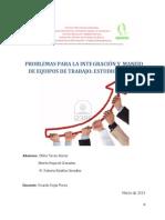 """Problemas Para La Integraciã""""n y El Manejo de Equipos de Trabajo"""