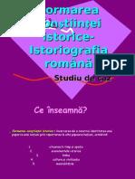 Studiu de Caz-Istoriografia Romana