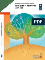Informe Nacional Sobre Desarrollo Humano 2008