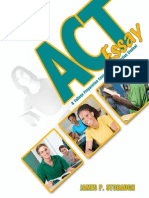 ACT Essay Workbook
