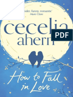 How To Fall In Love, by Cecelia Ahern - Extract
