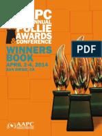 2014 Aapc Pollie Winnersbook Finalafterpollies