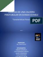 Análisis de Una Caldera Pirotubular en Estado Estable