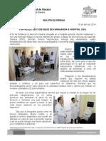 16/04/14 fortalece Sso Con Equipo Nuevo a Hospital Civil