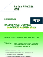 Anamnesis, Pemeriksaan Serta Prognosis Prostodonti