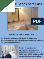 Diseño de Baños Para Casa