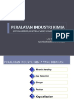 Peralatan Industri Kimia Crystallization Heat Treatment Separation Filter