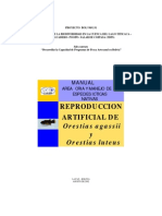 Manual de Reproduccion de Orestias