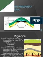 Migración Primaria y Secundaria