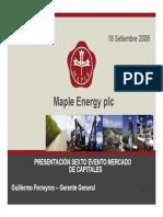 Presentation at the Sixth Annual Capital Markets Forum Espanol (1)