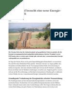 Deutschland Braucht Eine Neue Energie