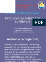 1 Patologia Quirurgica de Superficie Para Procesos Inflamatorios