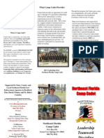 Camp Cadet Brochure