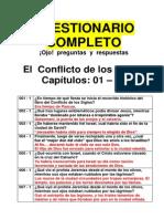 El Conflicto de Los Siglos PREGUNTAS Y RESPUESTAS 771 Preguntas