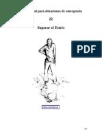 (Medicina) (Psiquiatría) (Psicología) (Salud) (Español E-Book) Manual para situaciones de emergencia - Superar El Estrés