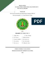 3. Pre Planning Mmd 1 Golantepus