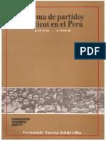 1995  Sistema de partidos políticos en el Perú (1978-1995)