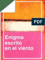 Enigma escrito en el viento * Alejandro Mos Riera