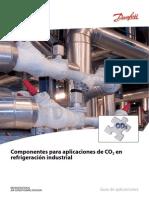 Componentes para aplicaciones de CO2 en Refrigeración Indust