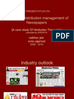 presentation on sales and sistribution of news papers