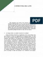 Los Casos en La Estructura Del Latín
