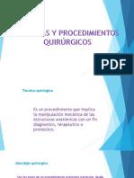 Instrumentos en Cirugia