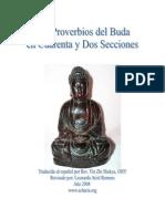 Budismo - Los Proverbios Del Buda en Cuarenta Y Dos Secciones