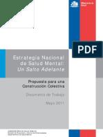 Estrategia Nacional Salud Mental