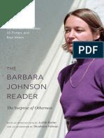 The Barbara Johnson Reader