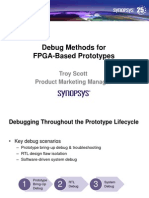 Implementation of a Software Defined Radio on FPGAs