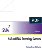 NAS and ISCSI Technology Overview