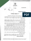 """מכתב התפטרות של מנכ""""ל המשרד להגנת העורף"""