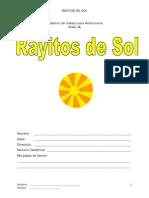 Cuadernillo Rayitos de Sol