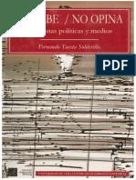 1997 No Sabe, No Opina (Medios y encuestas políticas).