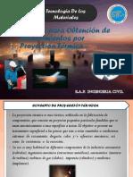 01.- Proceso Para Obtencion de Recubrimientos Por Proyeccion Termica.