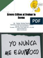 Errores Criticos Al Evaluar La Escena