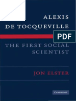 John Elster - Alexis de Tocqueville. The first social scientist