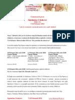 Comunicat - Saptamana Casatoriei - 7-14 Februarie 2014