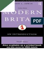 Modern Britain-John Irwin