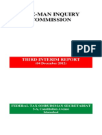 Special Investigative Report by the Federal Tax Ombudsman of Pakistan