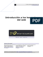 02 Introduccio n a Los Lenguajes Del Web