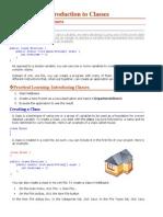 Introdjavascript tutorialuction to Classe1