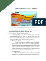 Proses Metamorfisme Pada Zona Subduksi
