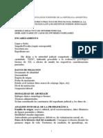 Modelo Didactico de Informe Pericial
