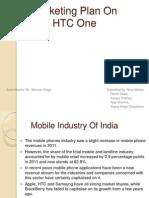 Marketing Plan on HTC one