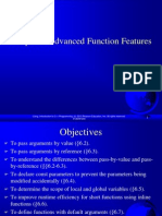 Ch6 Advanced Function Features